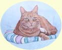 Click for larger image of cat painting